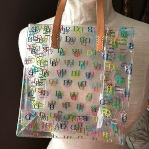 Small Dooney and Bourke IT clear lunch tote